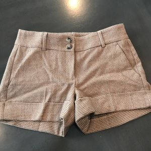 Theory wool knit shorts